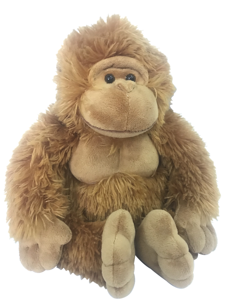 Stuffed Orangutan Toy