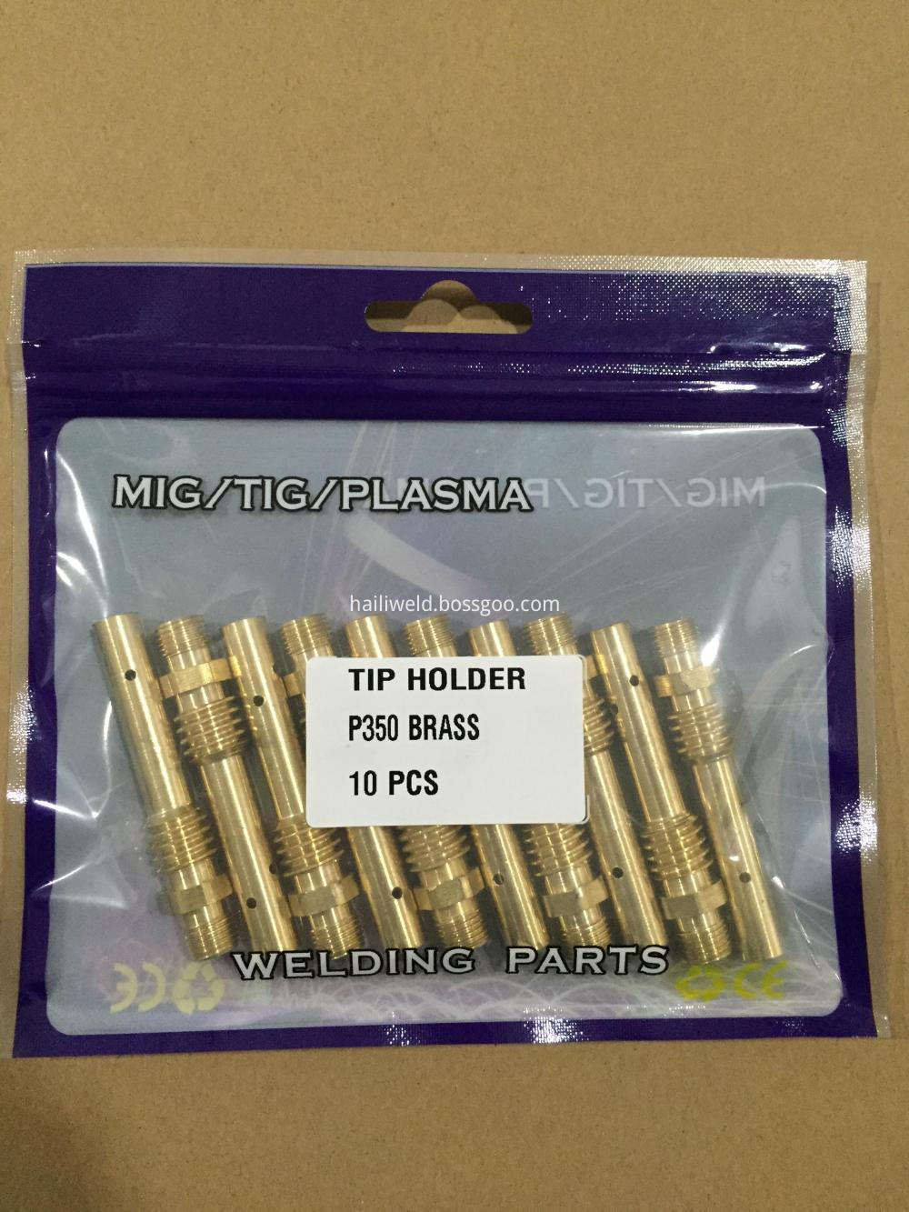 Tip Holder P350a Brass