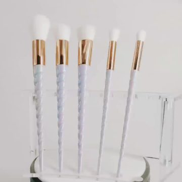 Rainbow Unicorn Lashes Brushes Unicorn Makeup Brush Set