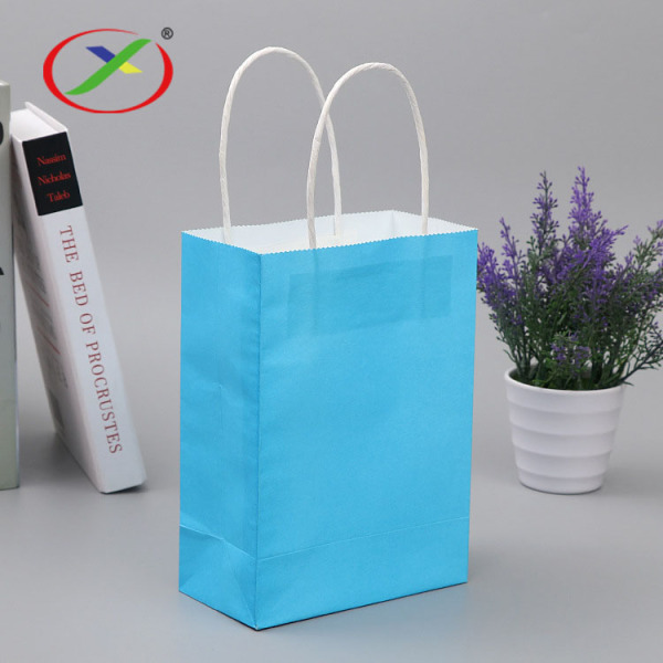 120gsm twist handle  paper shopping bag