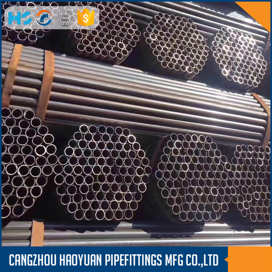 Q235 ERW Black Welded Round Steel Pipe