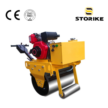 Honda walk behind single drum road roller