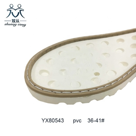 Cheap Price PVC Air Blowing Shoe Outsole