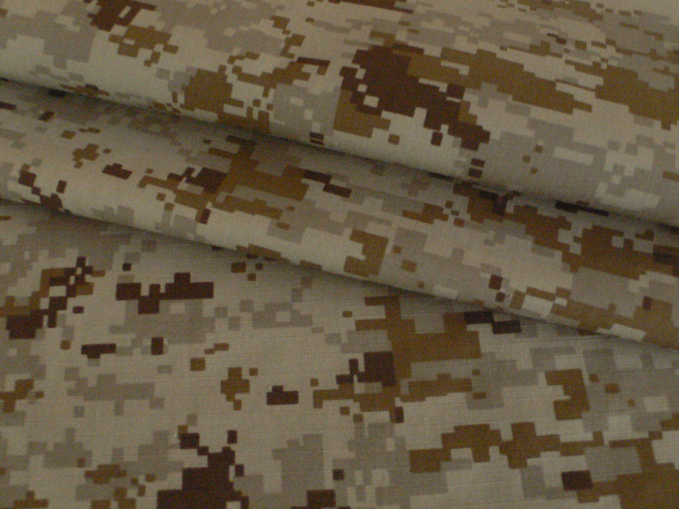 Digital Desert Camouflage Fabric for the Middle East