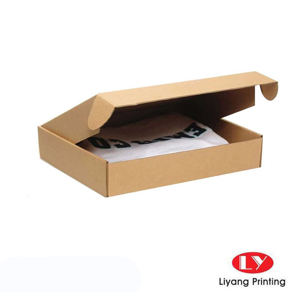 Corrugated cardboard paper box kraft