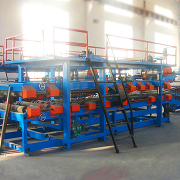 Colored steel sandwich making equipment sandwich panel machine price