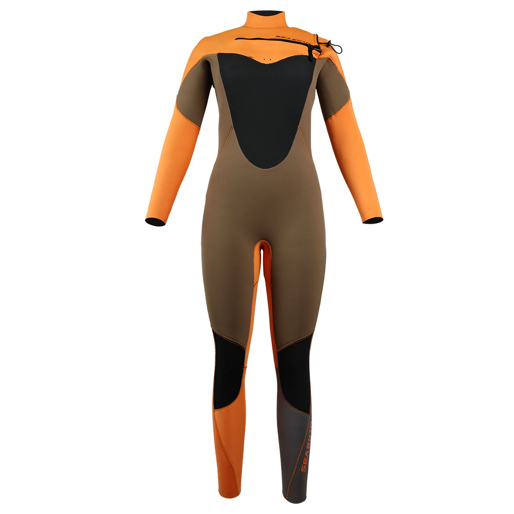 Women's Chest Zip Surfing Wetsuit