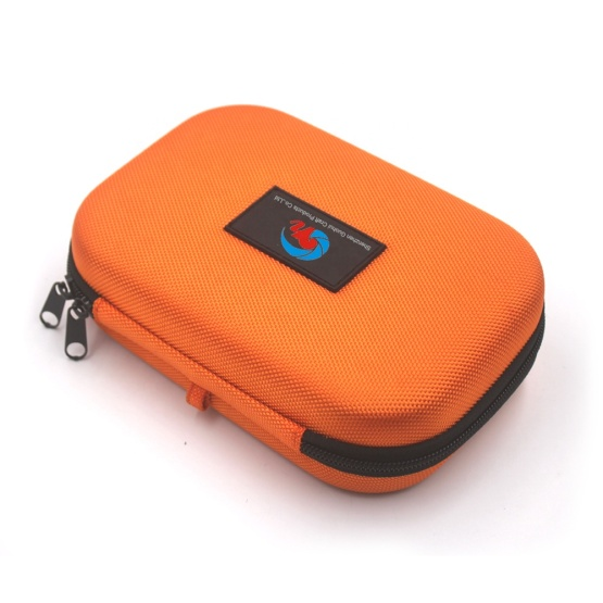 Full protective orange ballistic eva foam case for mobile phone accessories