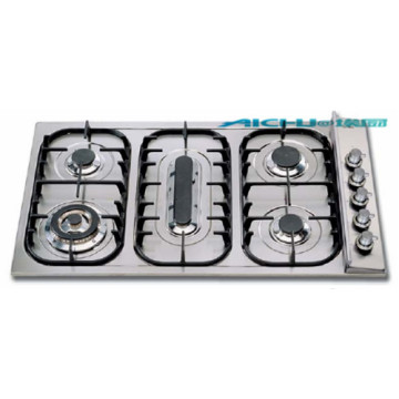 Built In Induction Hob Stainless Steel Glen GasCooker