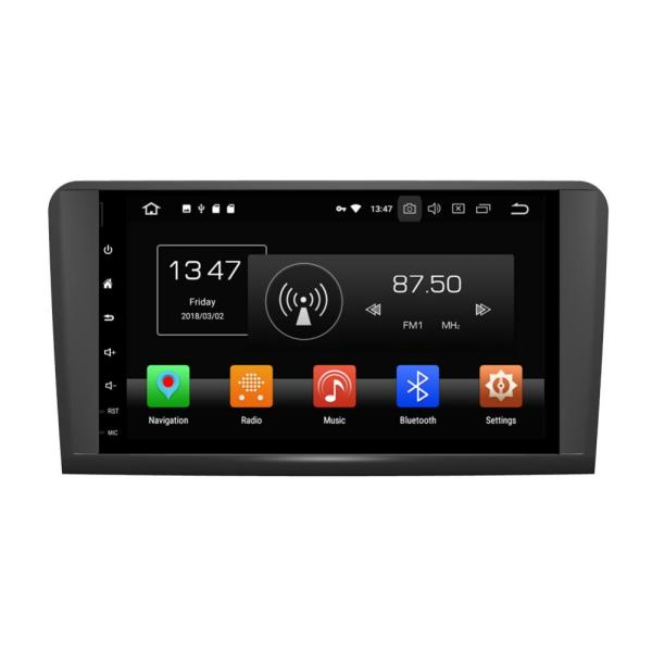 android car stereo for ML CLASS W164