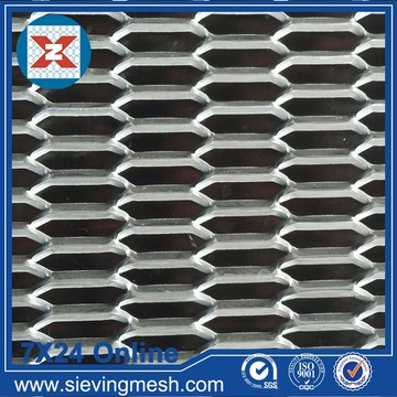 Expanded Metal Mesh Hexagonal