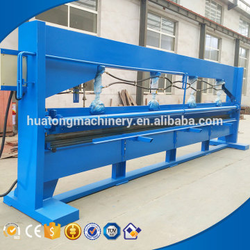Automatic hydraulic machine for bending of steel sheets
