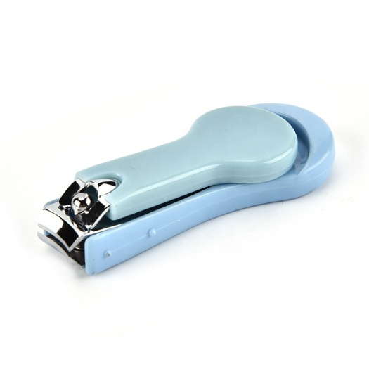 Creative lovely manicure cut fine Stainless steel safe baby children nail clippers