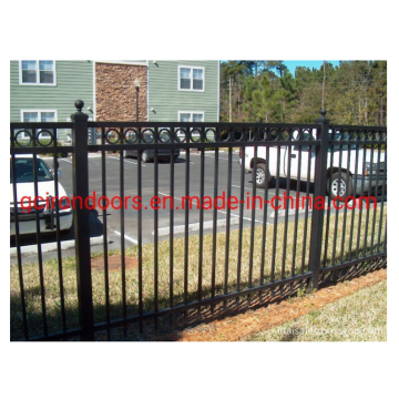 Cheap Ornamental Tubular Steel Wrought Iron Fence