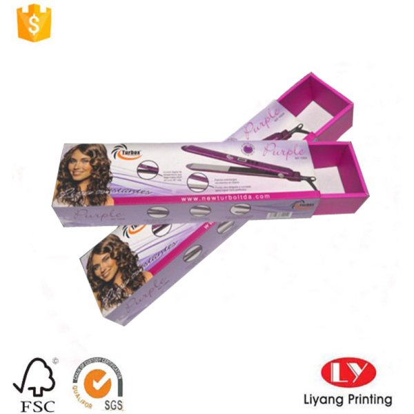 custom drawer hair packaging paper box