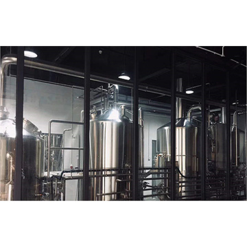 Industrial Brewery Equipment with 4 Vessel Brewhouse