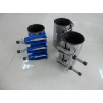 Stainless steel single band clamp for pipe repair