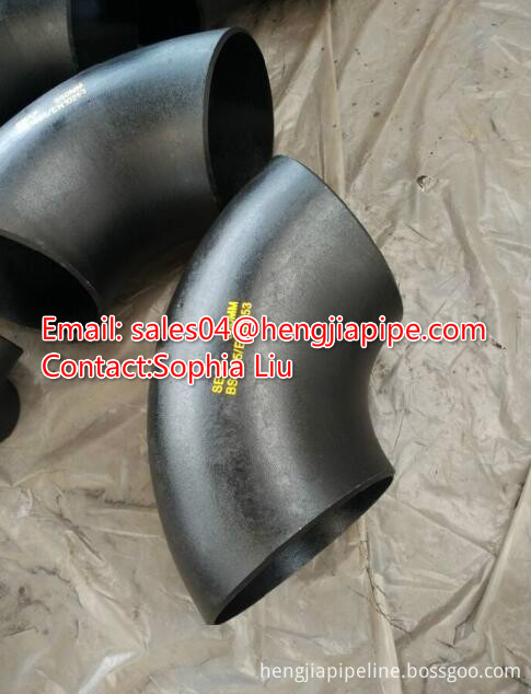 standard seamless pipe elbow