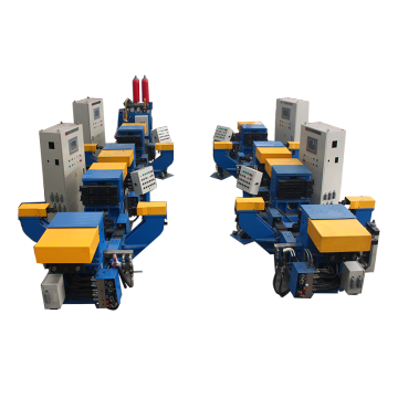 Tilting gravity mental casting machine