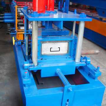 Fully automatic C Z U channel cold steel forming machine