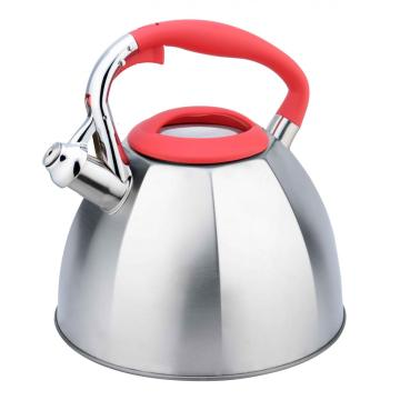 stylish octagon shape whistling kettle