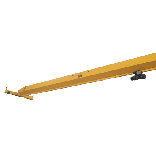 single girder overhead crane lifting mechanism with hoist