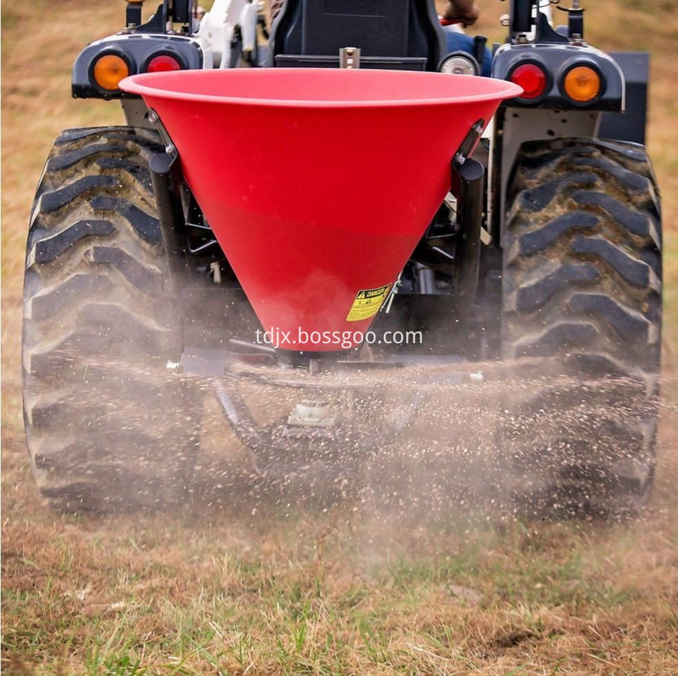 chemical fertilizer spreader