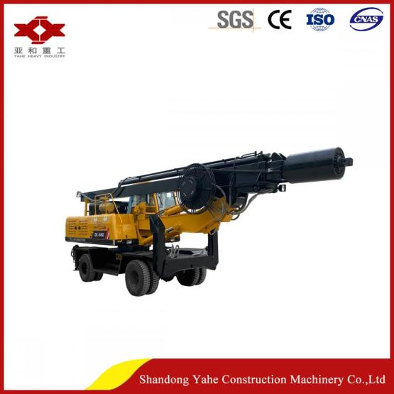 Wheel rotary drilling  rig corporation