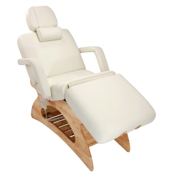 Wooden beauty bed/ wooden massage table