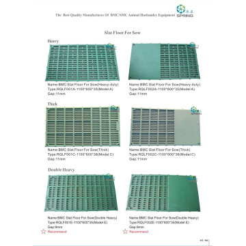 Plastic Slat Floor for Pig Nursery Bed