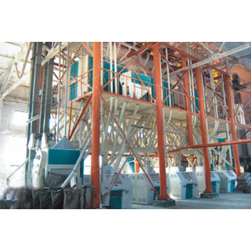60-120 tons wheat flour processing equipment