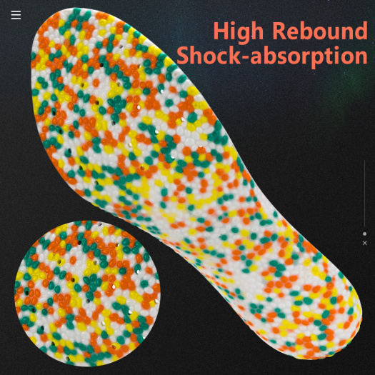 Eco-Friendly washable high quality shoe insole Pad Insert