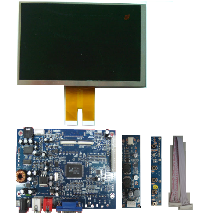 Vga Lcd Controller For Pm070wx5 Connect