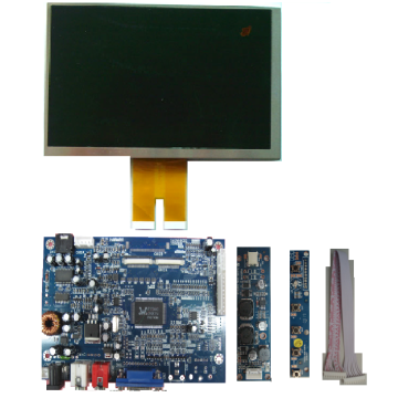 VGA Signal Input Controller for PVI EINK LCD