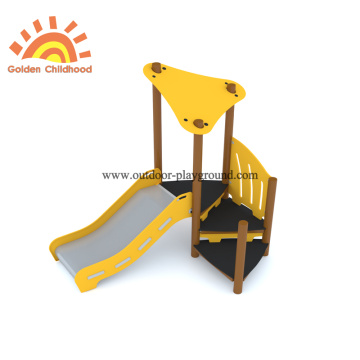 Simple Outdoor Playground Slide Equipment Set