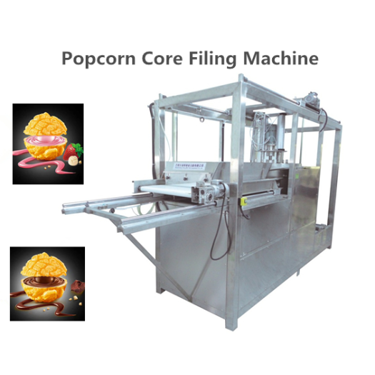 Core filling machine for popcorn and biscuit etc
