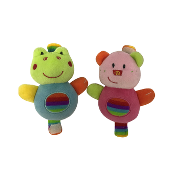 Plush Frog And Piggy Waist Toys