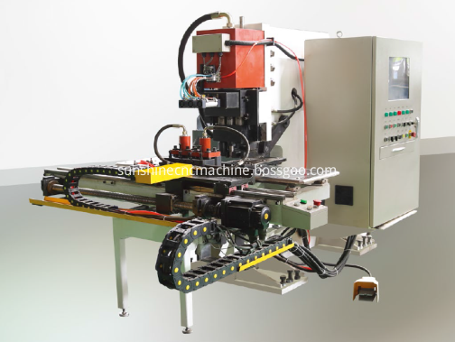 YBJ-80 PLATE PUNCHING MACHINE