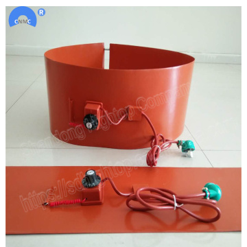 200*1740mm Silicone Rubber Drum Heating belt