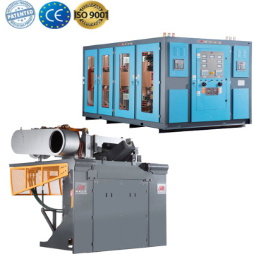 Industrial small iron aluminum melting foundry furnace