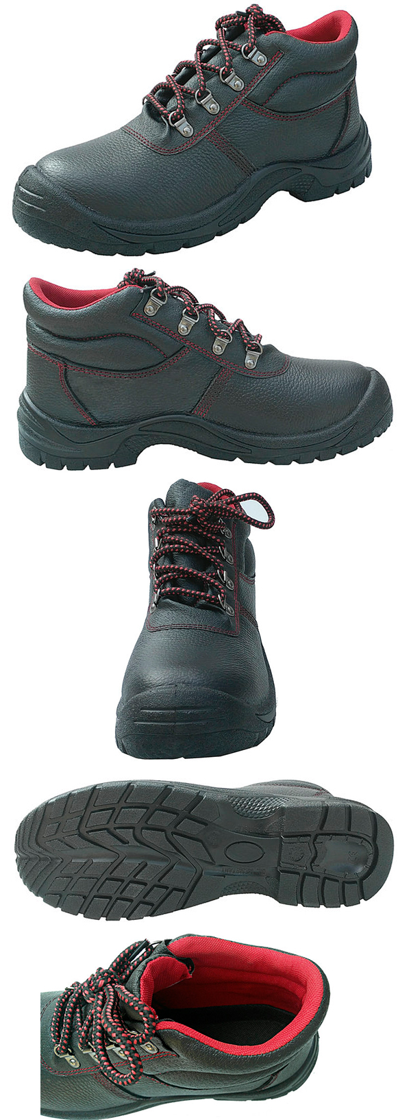 SS6B025-X Middle Cut Basic Design Safety Shoes