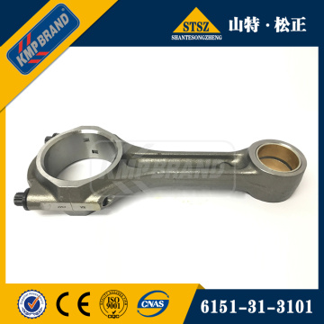 connecting rod 6151-31-3101 for PC400-7 excavator SAA6D125E
