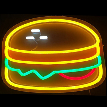 FOOD LED NEON LIGHT SIGN BOARD