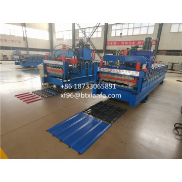 Metal Roofing Double Layer Roof Forming Machine