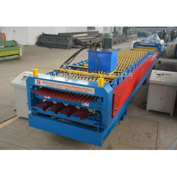 Double Deck Roof Tile Making Machine