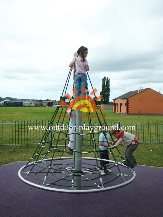 activity climbing net playground for school