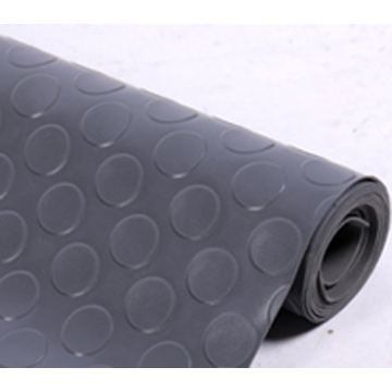In rolls garage PVC coin floor mat