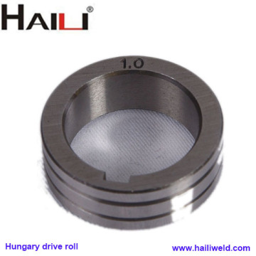 Hungary drive roller for wire feeder