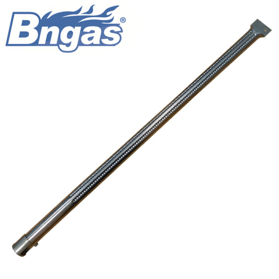 Stainless steel gas furnace burner tubes