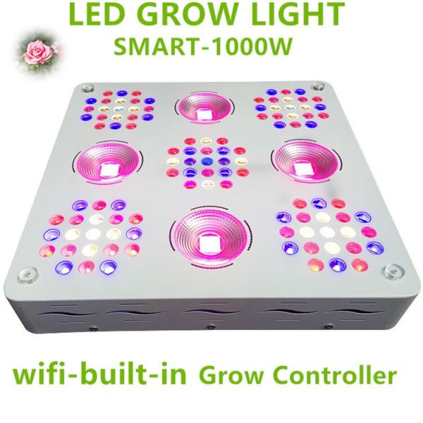 Patent 1000W LED Grow Light Full Spectrum for Plants Veg and Flower